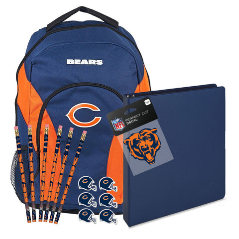 Chicago Bears NFL Back to School Essentials