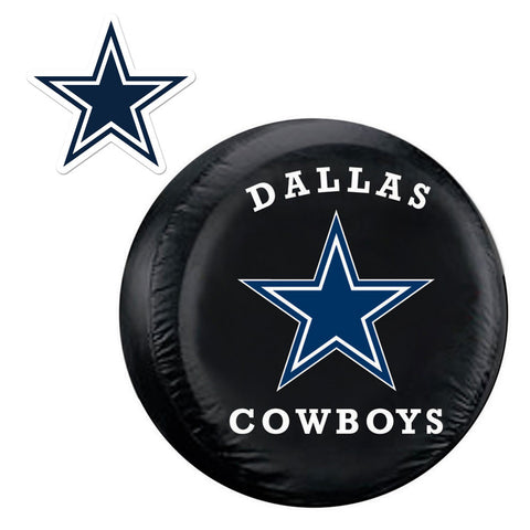 Dallas Cowboys NFL Spare Tire Cover and Grille Logo Set Regular