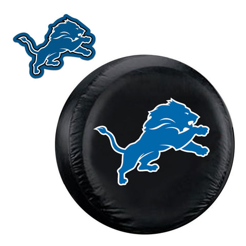 Detroit Lions NFL Spare Tire Cover and Grille Logo Set Regular