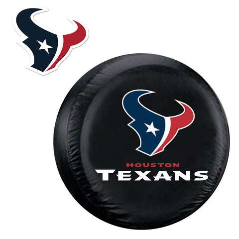 Houston Texans NFL Spare Tire Cover and Grille Logo Set Regular