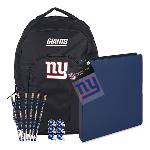New York Giants NFL Back to School Essentials