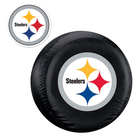 Pittsburgh Steelers NFL Spare Tire Cover and Grille Logo Set