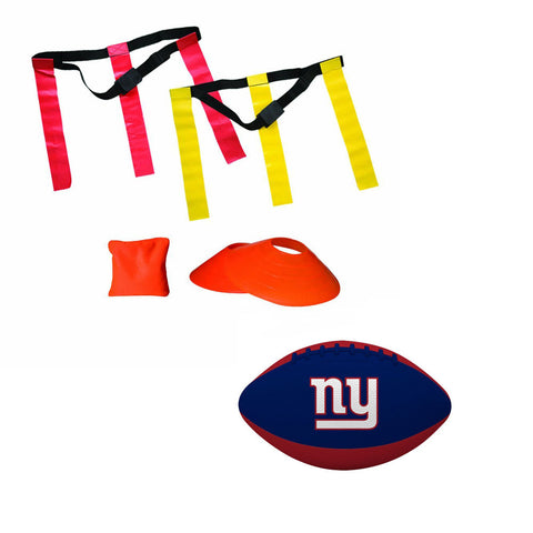 New York Giants NFL Youth 10 Player Flag Football Set