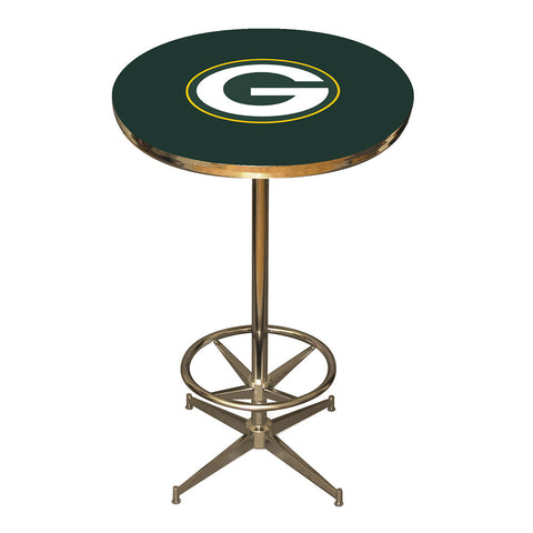 Green Bay Packers NFL Pub Table