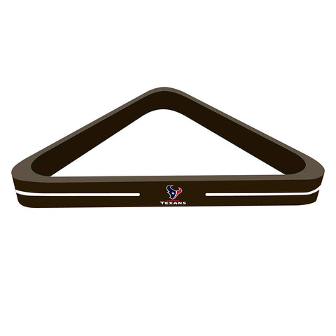 Houston Texans NFL Billiard Ball Triangle Rack