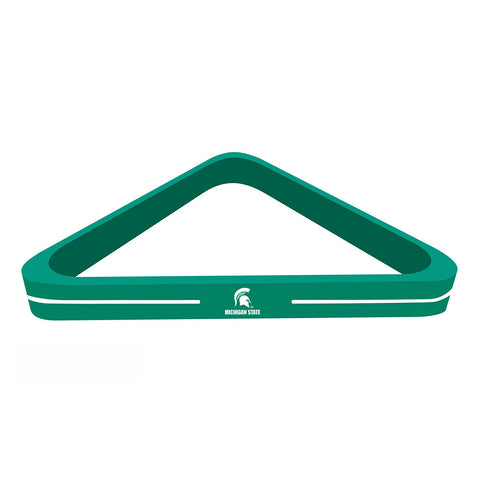 Michigan State Spartans NCAA Billiard Ball Triangle Rack