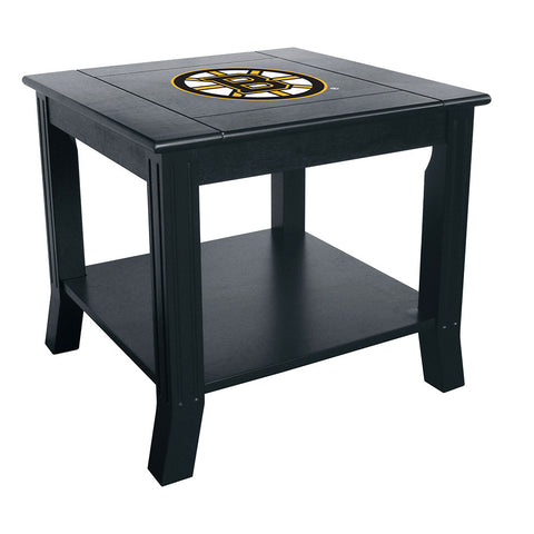 Boston Bruins NHL Side Table