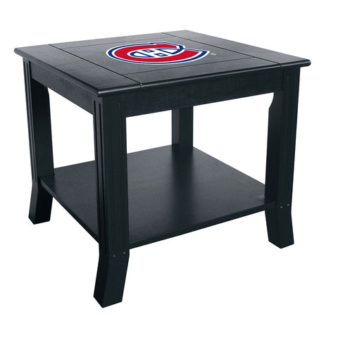 Montreal Canadiens NHL Side Table