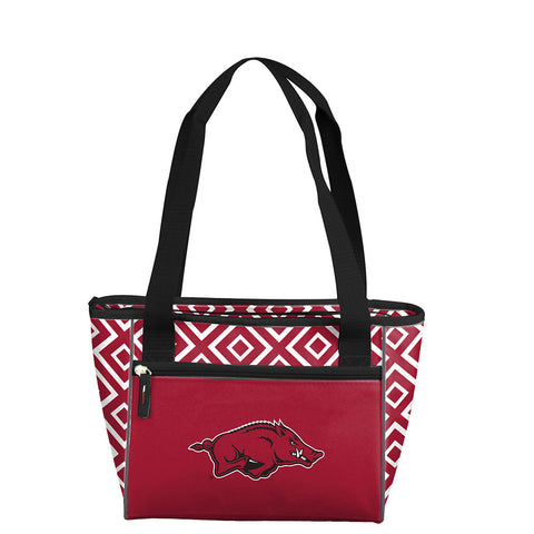 Arkansas Razorbacks NCAA 16 Can Cooler Tote