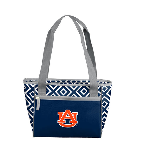 Auburn Tigers NCAA 16 Can Cooler Tote