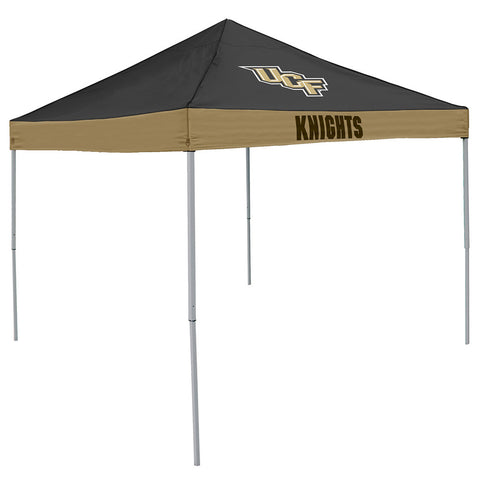 Central Florida Knights NCAA 9 x Economy 2 Logo Pop Up Canopy Tailgate Tent