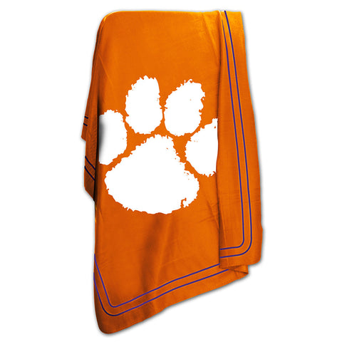 Clemson Tigers NCAA Classic Fleece Blanket