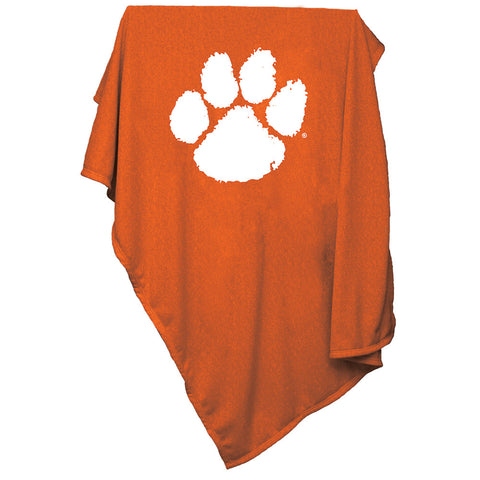 Clemson Tigers NCAA Sweatshirt Blanket Throw