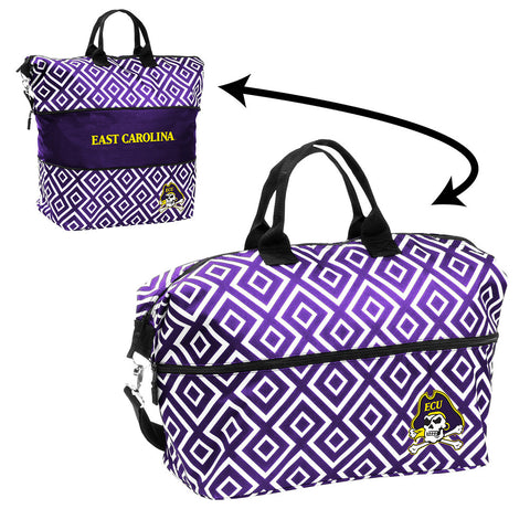 East Carolina Pirates NCAA Expandable Tote