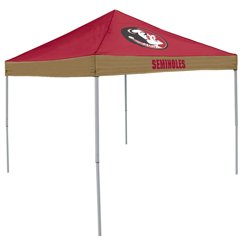 Florida State Seminoles NCAA 9 x Economy 2 Logo Pop Up Canopy Tailgate Tent