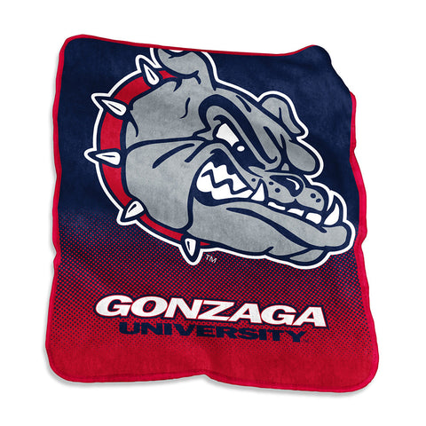 Gonzaga Bulldogs NCAA Raschel Throw