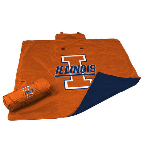 Illinois Fighting Illini NCAA All Weather Blanket