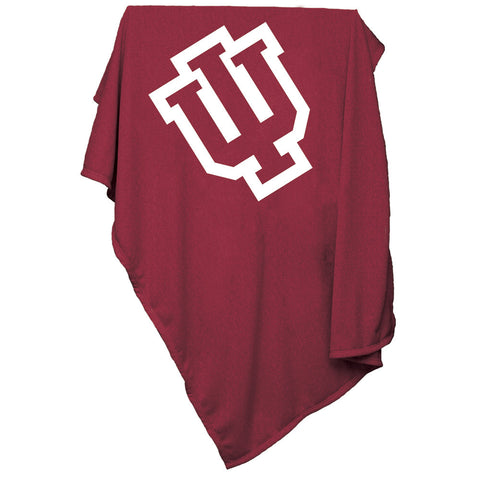 Indiana Hoosiers NCAA Sweatshirt Blanket Throw