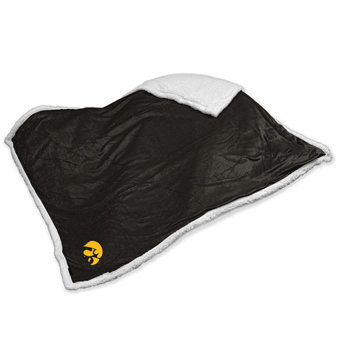 Iowa Hawkeyes NCAA Soft Plush Sherpa Throw Blanket 50in x 60in