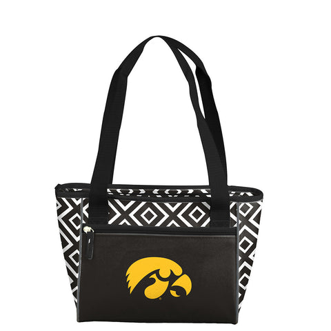 Iowa Hawkeyes NCAA 16 Can Cooler Tote