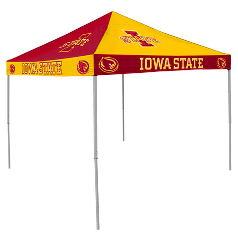 Iowa State Cyclones NCAA 9 x Checkerboard Color Pop Up Tailgate Canopy Tent