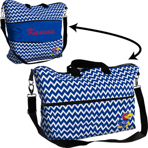 Kansas Jayhawks NCAA Expandable Tote Bag