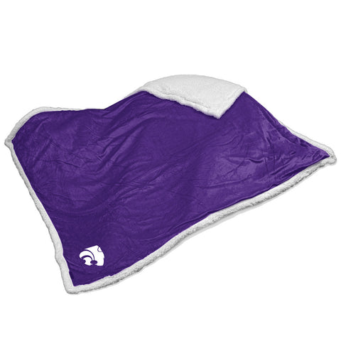 Kansas State Wildcats NCAA Soft Plush Sherpa Throw Blanket 50in x 60in