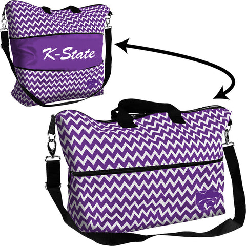 Kansas State Wildcats NCAA Expandable Tote Bag
