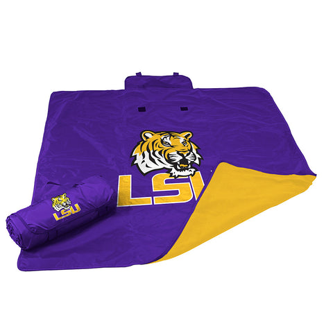 LSU Tigers NCAA All Weather Blanket