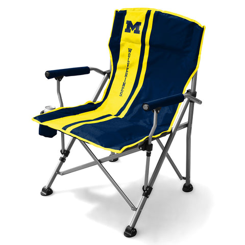 Michigan Wolverines NCAA Sideline Chair
