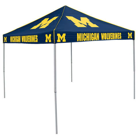 Michigan Wolverines NCAA Colored 9x9 Tailgate Tent