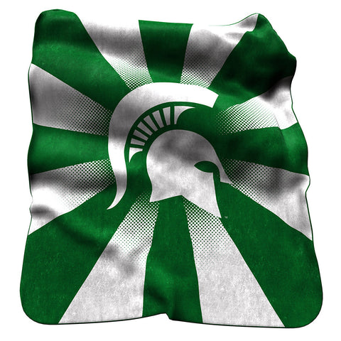 Michigan State Spartans NCAA Raschel Throw