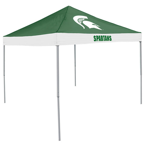 Michigan State Spartans NCAA 9 x Economy 2 Logo Pop Up Canopy Tailgate Tent