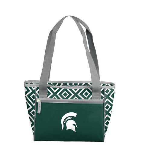 Michigan State Spartans NCAA 16 Can Cooler Tote