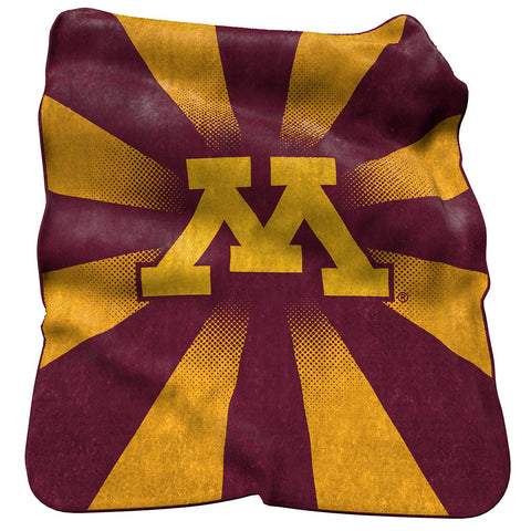Minnesota Golden Gophers NCAA Raschel Throw