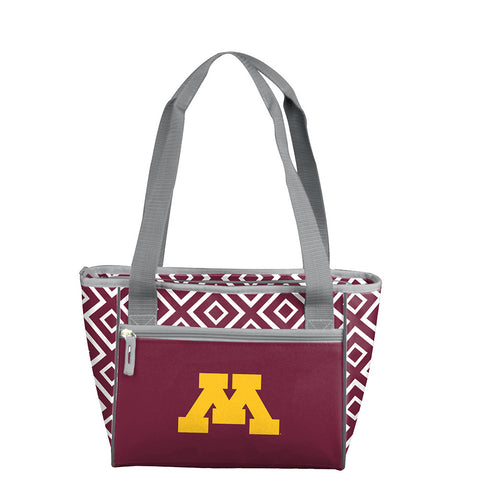 Minnesota Golden Gophers NCAA 16 Can Cooler Tote