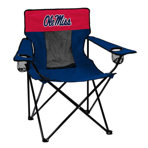 Mississippi Rebels NCAA Elite Chair
