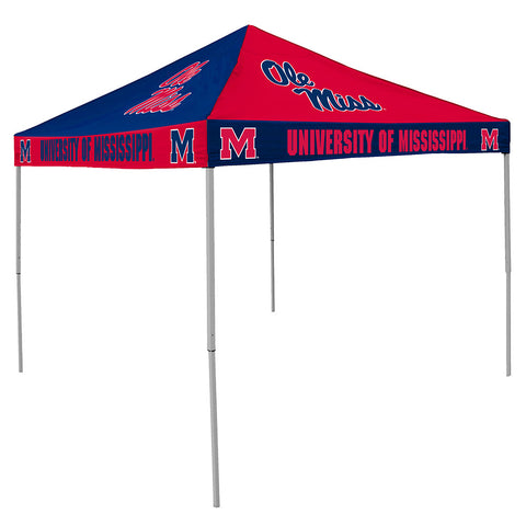 Mississippi Rebels NCAA 9 x Checkerboard Color Pop Up Tailgate Canopy Tent