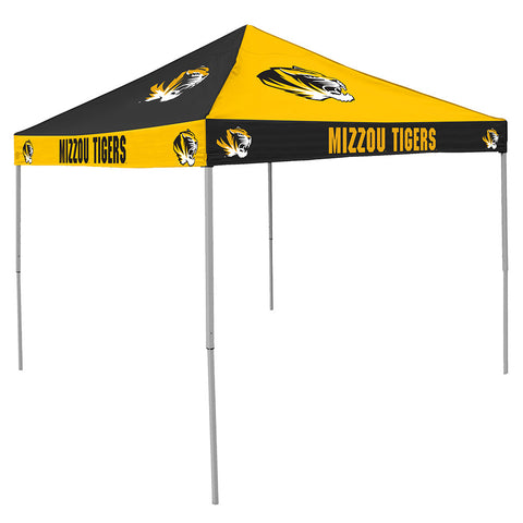 Missouri Tigers NCAA 9 x Checkerboard Color Pop Up Tailgate Canopy Tent