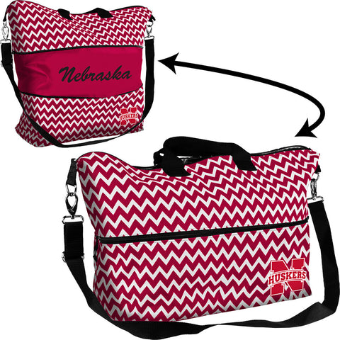 Nebraska Cornhuskers NCAA Expandable Tote Bag