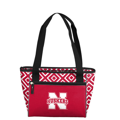 Nebraska Cornhuskers NCAA 16 Can Cooler Tote