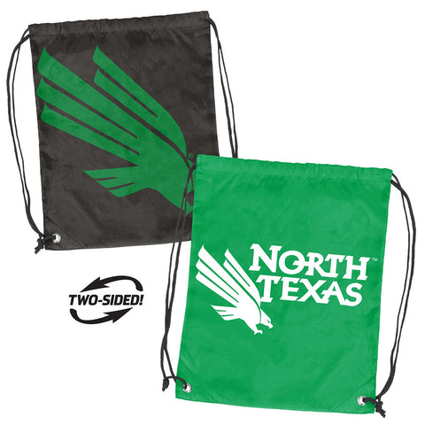 North Texas Mean Green NCAA Doubleheader Reversible Backsack
