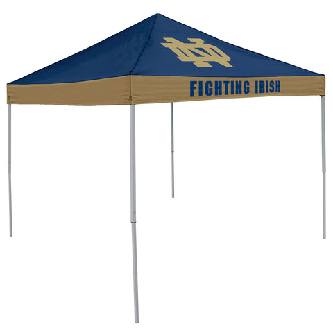 Notre Dame Fighting Irish NCAA 9 x Economy 2 Logo Pop Up Canopy Tailgate Tent