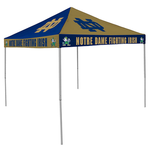 Notre Dame Fighting Irish NCAA 9 x Checkerboard Color Pop Up Tailgate Canopy Tent