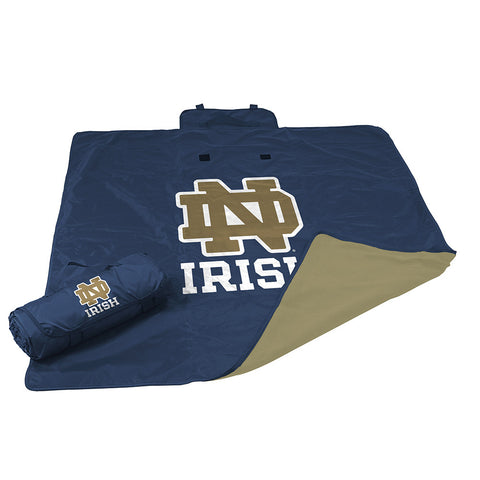 Notre Dame Fighting Irish NCAA All Weather Blanket