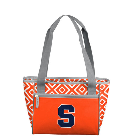 Syracuse Orangemen NCAA 16 Can Cooler Tote
