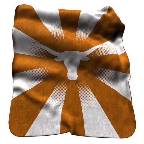Texas Longhorns NCAA Raschel Throw