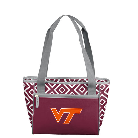 Virginia Tech Hokies NCAA 16 Can Cooler Tote