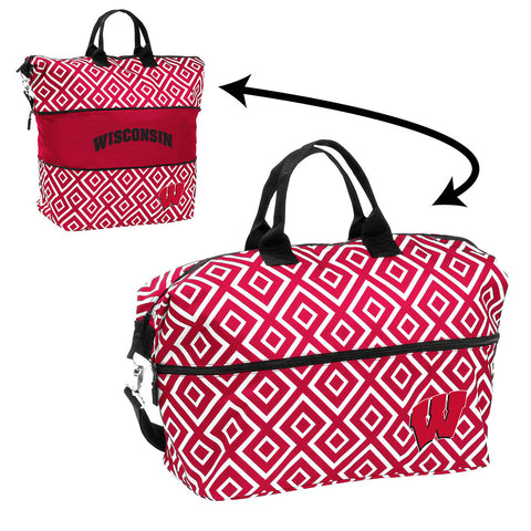 Wisconsin Badgers NCAA Expandable Tote