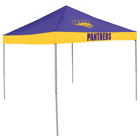 Northern Iowa Panthers NCAA 9 x Economy 2 Logo Pop Up Canopy Tailgate Tent